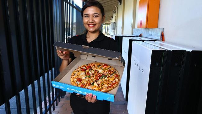 Domino's Plumpton is making pizzas powered by Tesla.