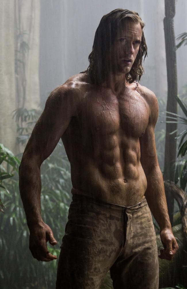 Lang might not be Alexander Skarsgård, who stars in the latest Tarzan, but he's sure got the skills.