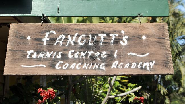 Lutwyche institution: The Fancutts tennis centre.
