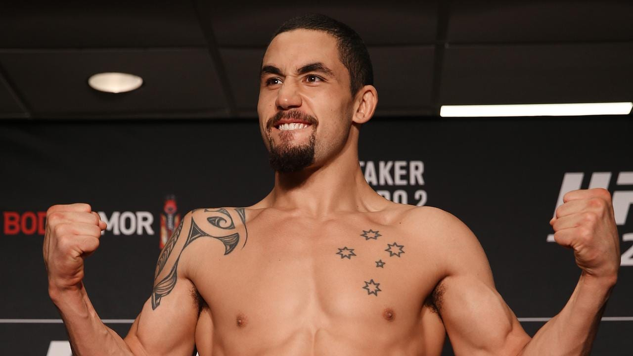 Whittaker still wants to fight.