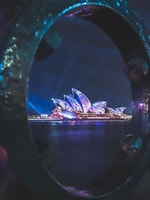 Favourite Instagram moments of Vivid Sydney 2019, the largest festival of lights, music and ideas in the Southern Hemisphere, attracts more than 2 million visitors every year. Lighting of the Sails - Sydney Opera House (Instagram - @runningaray)