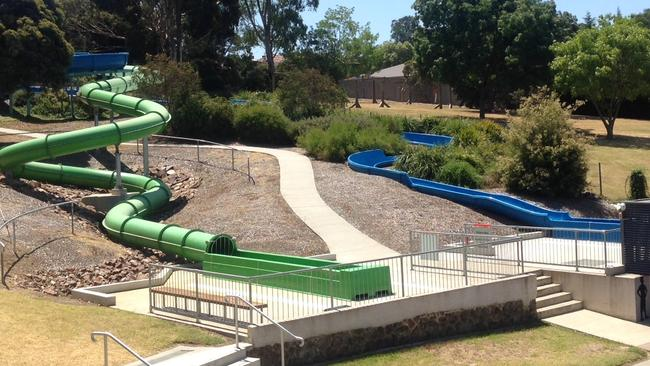 Waterslides That Drop You In To Cool Outdoor Pools Herald Sun