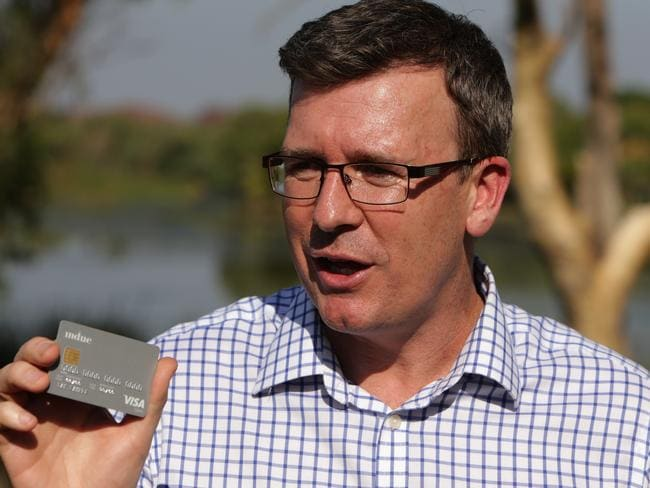 Human Services Minister Alan Tudge is due to release a report on the trials in WA and SA. Picture: Stuart McEvoy/The Australian.