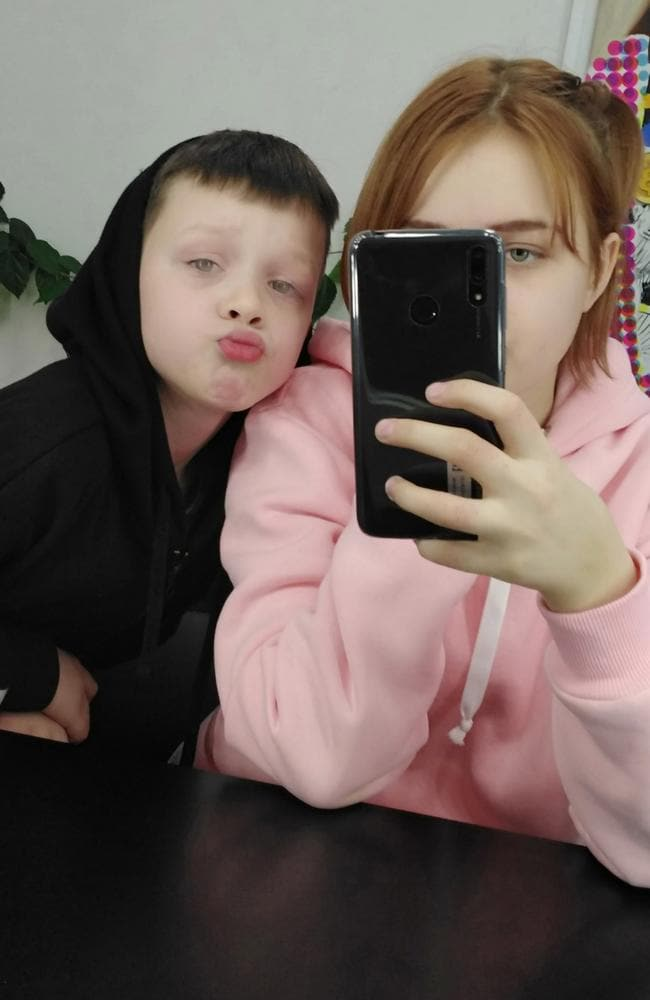 Darya, 13, alleges Ivan, 10, got her pregnant. Picture: East 2 West News/Australscope. Source: Australscope.