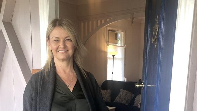 New owner Roze Markovski plans to undertake a major renovation of the property, with husband Sash. Picture: Sophie Foster