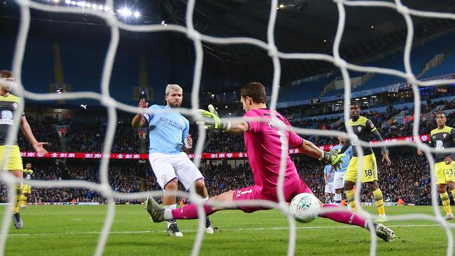 Manchester City is a hot favourite to get a second win over Southampton, embarrassed by Leicester City last weekend, this week. Picture: Alex Livesey/Getty Images