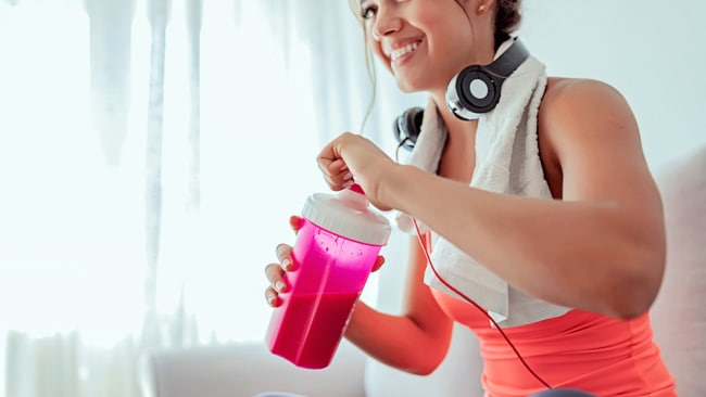 Make sure your protein powder is 100 per cent natural. Image: iStock.