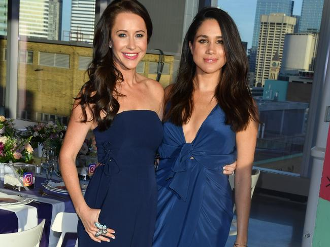 Jessica Mulroney, Meghan's best friend and stylist, is said to be organising the event. Picture: WireImage