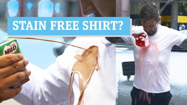 "The ""Stain-Free"" Shirt Test"
