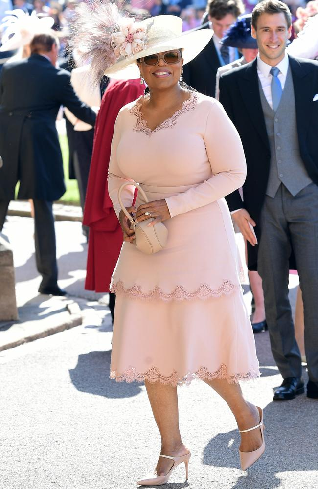 Suddenly we don't care about the royals because OPRAH BLOODY WINFREY IS HERE!!! Picture: Ian West/PA Wire