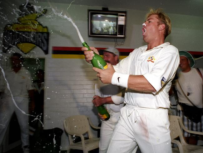 Wherever Warnie goes, good times will follow.