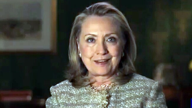 Clinton supports gay marriage