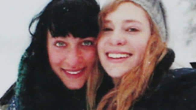 Jessica Falkholt and sister Annabelle (right), who also died in the Boxing Day crash.