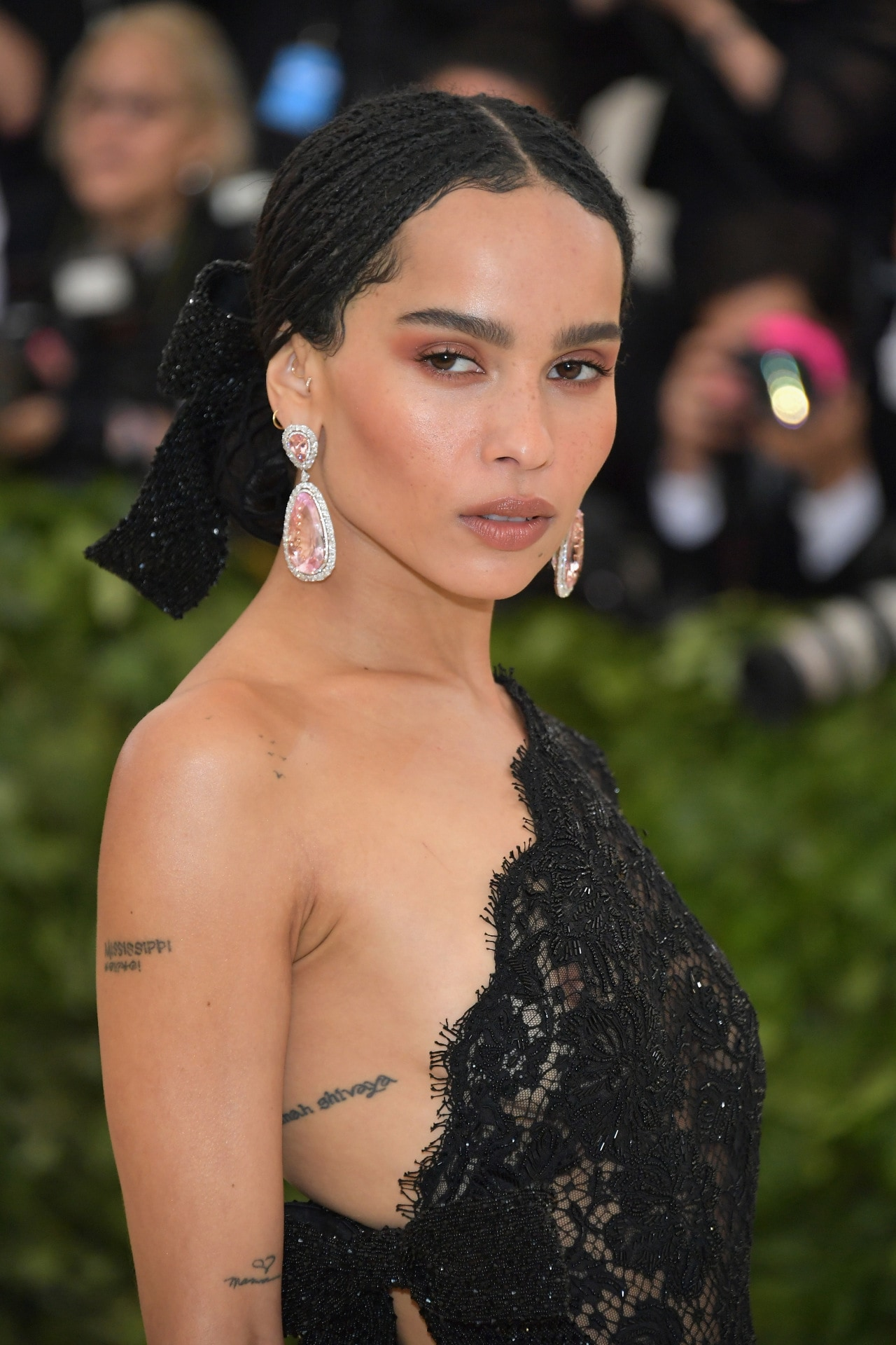 Zoë Kravitz has been announced as the new face of YSL Beauté Black Opium