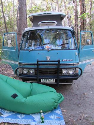 She loved her home, but it broke down often, so she had to sell it for parts. Picture: Brisbanegirlinavan
