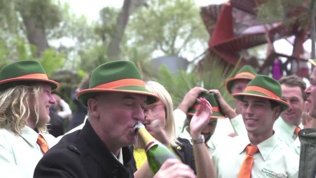 Aussies celebrate Chelsea Flower Show win
