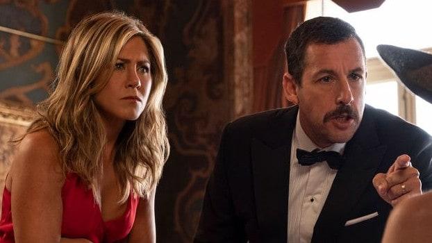 Murder Mystery movie review: Adam Sandler and Jennifer
