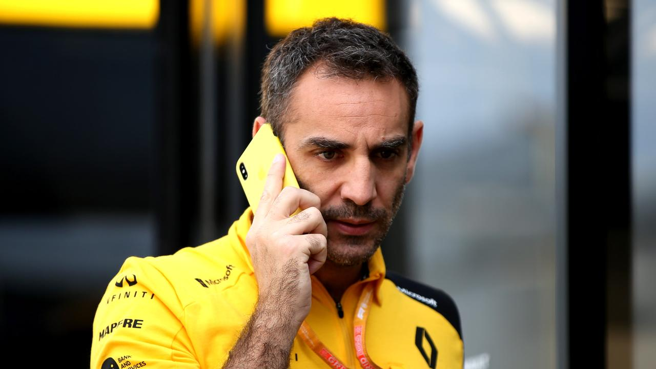 Cyril Abiteboul needs to put Renault in the right direction.