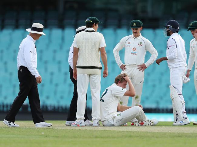 Cricket News 2020 Australia A Vs India Cameron Green Injury Scare