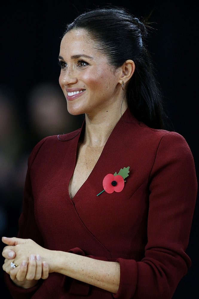Meghan Markle at the 2018 Invictus Games in Sydney, Australia. Image credit: Getty Images