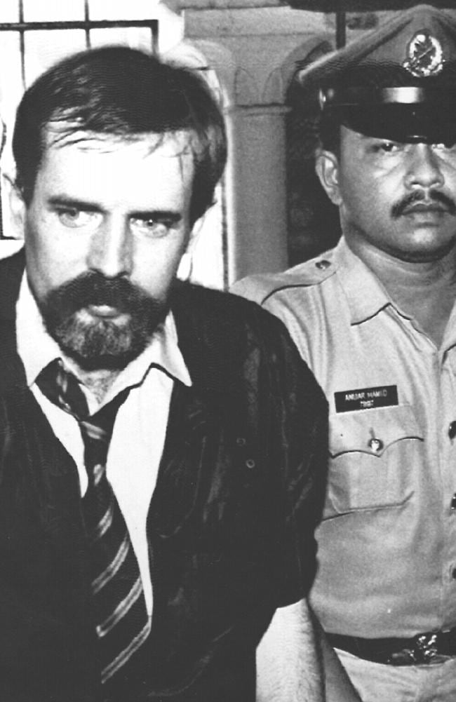 Sydney man Michael McAuliffe was executed in Malaysia in 1993 for heroin trafficking. Picture: Supplied