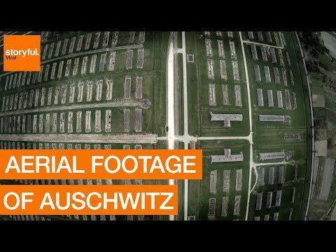 Auschwitz From Above: Aerial Footage Shows Grand Scale of Concentration Camp. Credit - BiG Productions via Storyful