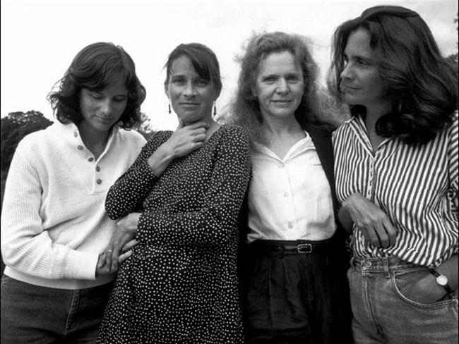 The Brown Sisters 1992. Picture: Nicholas Nixon