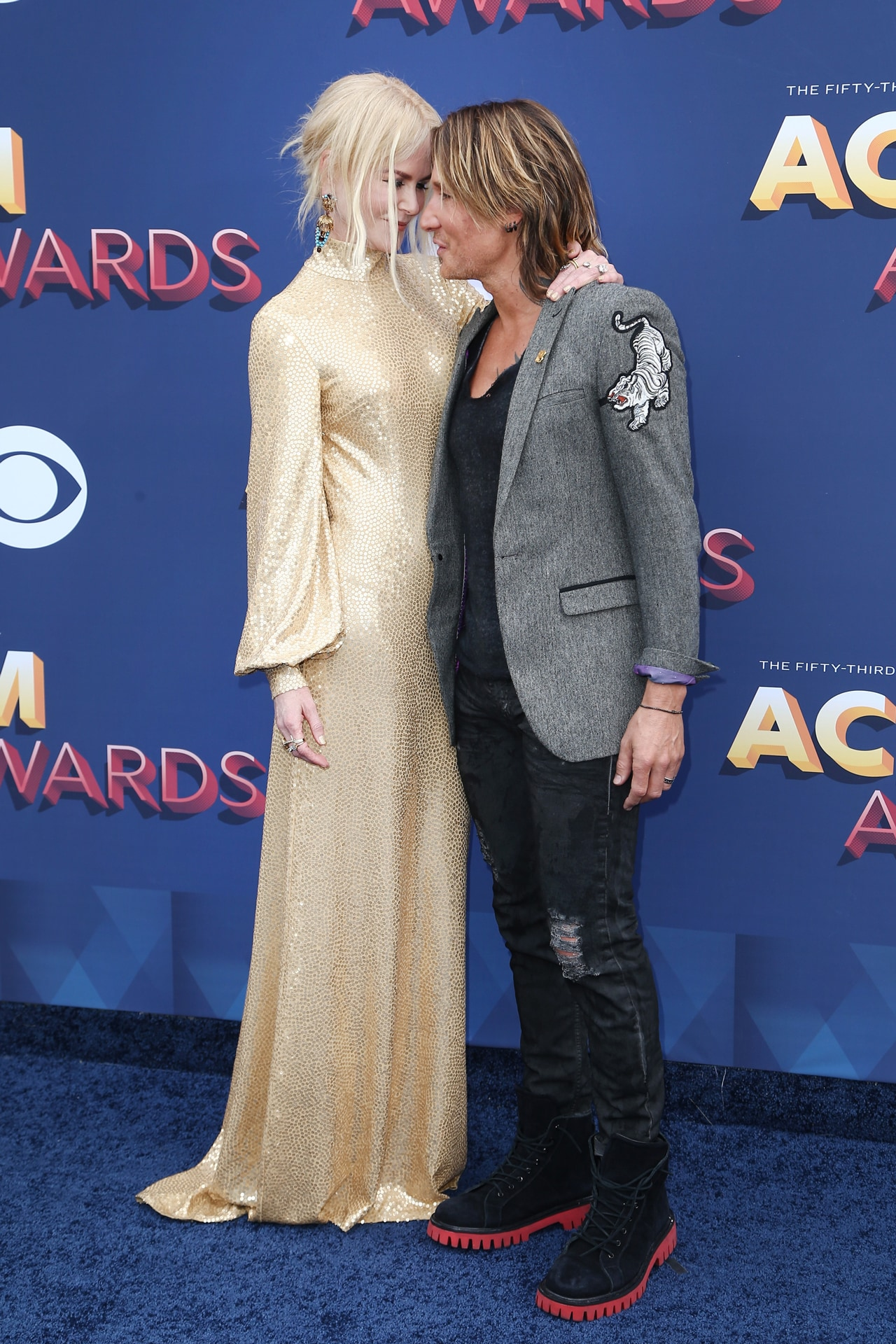 Nicole Kidman and Keith Urban attend the 53rd Academy of Country Music Awards in 2018. Image credit: Tommaso Boddi/Getty Images)