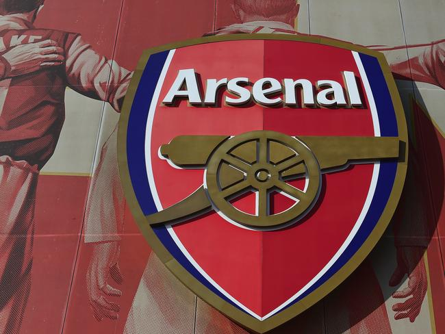 The Arsenal crest.