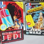Star Wars and Return of the Jedi ice blocks from the late '70s/early '80s. Picture: toltoys.com