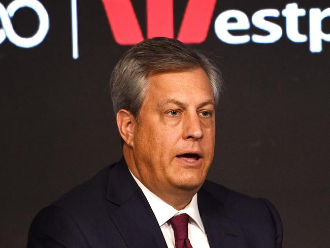 Westpac chief executive Brian Hartzer. Picture: AAP