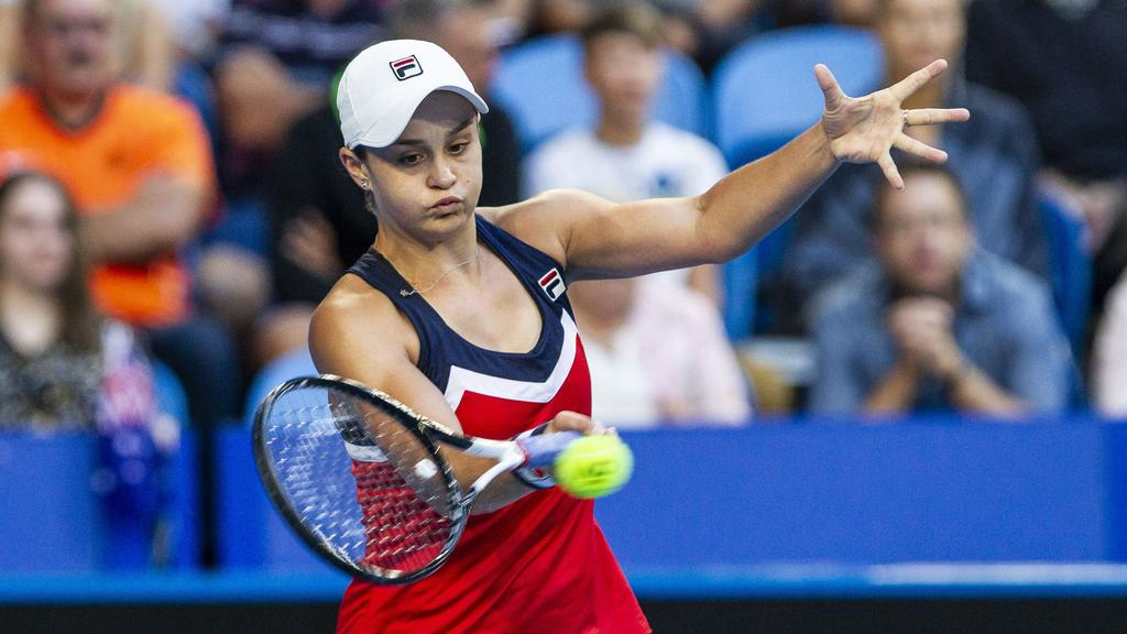 Hopman Cup Perth Results Germany Beat Australia Ash Barty