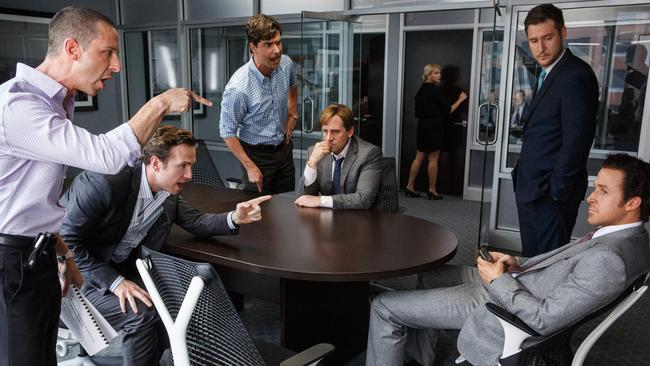 Likely winner ... it's not really a comedy, but that doesn't seem to matter much — The Big Short is a hot contender in that category at the Globes. Picture: Supplied