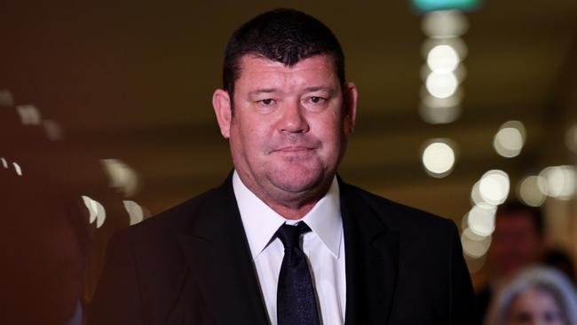 James Packer 'adamantly' denied knowledge of Crown's activities in China. Picture: AAP Image/Tracey Nearmy