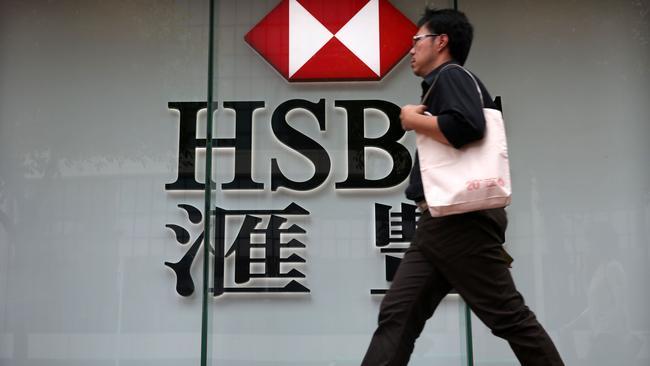 HSBC crimped by market volatility