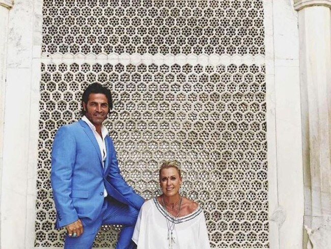 Lisa Curry has shared happy snaps from her honeymoon in India to her Instagram followers. Picture: Instagram/lisacurry