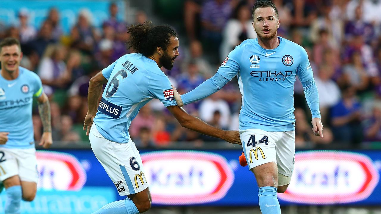 Ross McCormack has joined the Central Coast Mariners after his stint at City last season.
