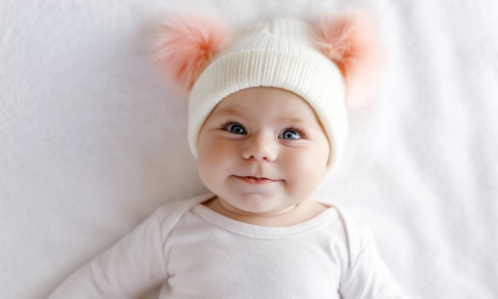 <b>7. ELSIE.</b> Close your eyes and picture what an Elsie would look like. Now picture the most beautiful little baby you've ever seen. It fits, right? Meaning 'pledged to God', this feminine name is a winner.  <p><i>Image: iStock.</i></p>