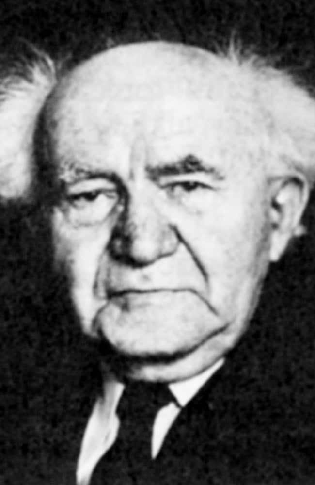 David Ben-Gurion resigned as Israel premier.
