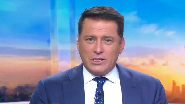 Rumours Karl Stefanovic was about to get sacked surfaced in September. Picture: Today