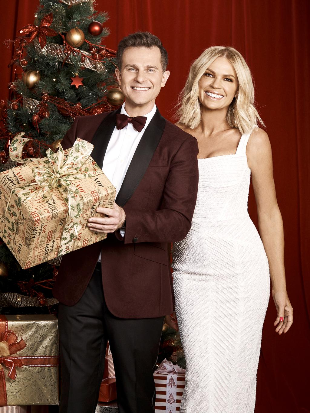 Christmas Eve Dresses.David Campbell And Sonia Kruger Are Ready To Shake Up Carols