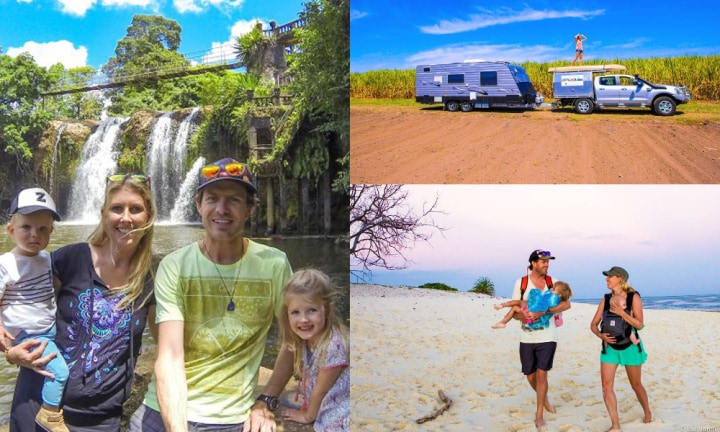 Meet the family who sold their home to travel Australia in a campervan