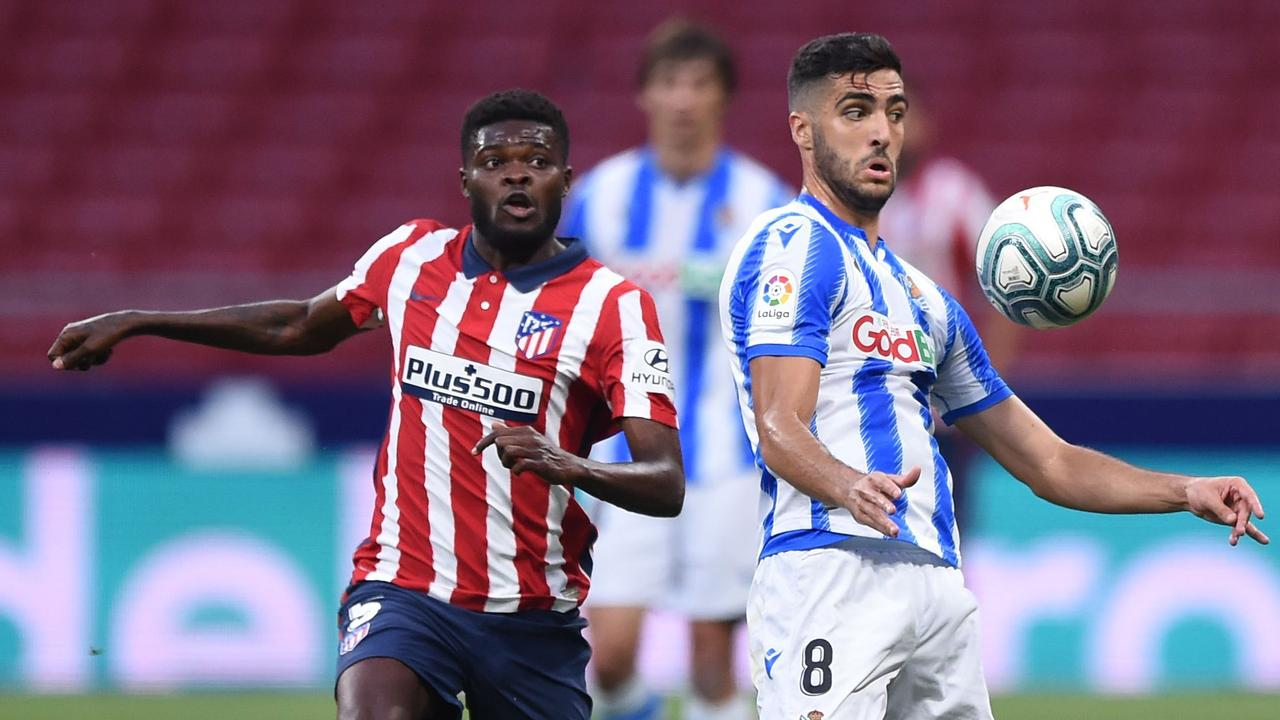 Thomas Partey is reportedly a target for Arsenal.