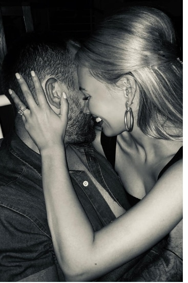 Samantha Jade engaged