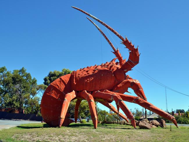 The Big Lobster. Picture: John Montesi