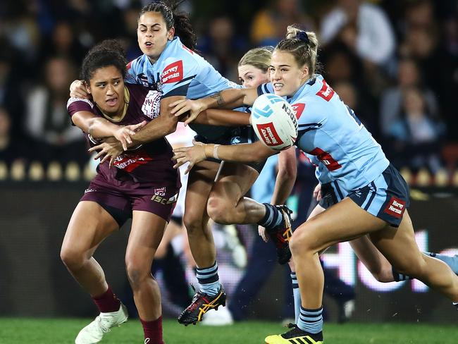 Queensland rep Zahara Temara will play for the Maori Ferns. Pic: Getty Images