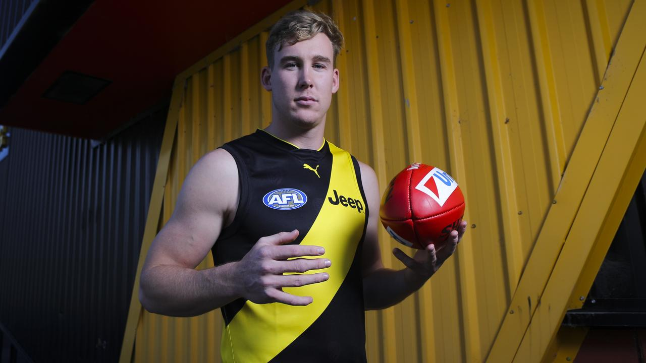 Tom Lynch will wear No. 17 in 2019. Picture: Wayne Taylor
