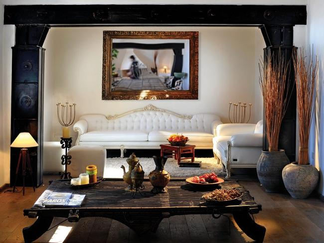 One of the luxurious lightouse rooms.
