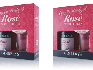 The rose-flavoured gin we're all going to be drinking. Image: Supplied