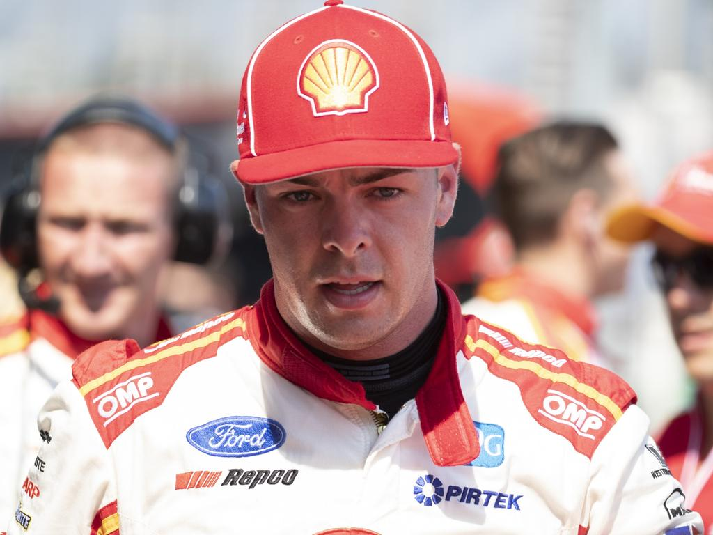 Supplied Unknown Supercars driver Scott McLaughlin wins race 4 of the Beaurepaires Melbourne 400 at Albert Park. Images 1 of 1